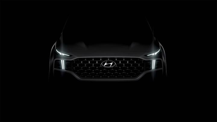 Nowy Hyundai Santa Fe pierwsze spojrzenie na przeprojektowanego SUV-a