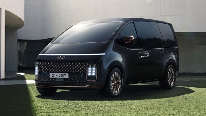 Hyundaia STARIA premiera online