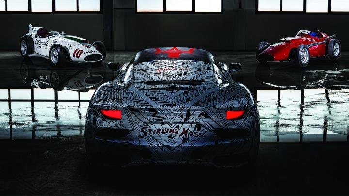 Unikalny prototyp Maserati MC20 dedykowany Sir Stirlingowi Mossowi