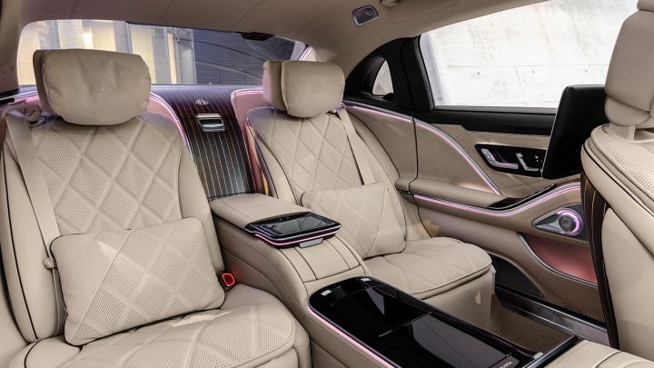 Tył nowej Klasy S Mercedes-Maybach