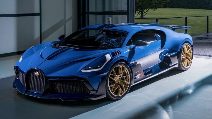 Bugatti Divo ostatni z 40 pojazdów dostarczony do klienta