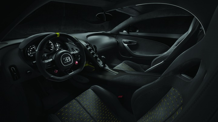 Indywidualna konfiguracja sprawia, że każdy Bugatti Divo jest wyjątkowy
