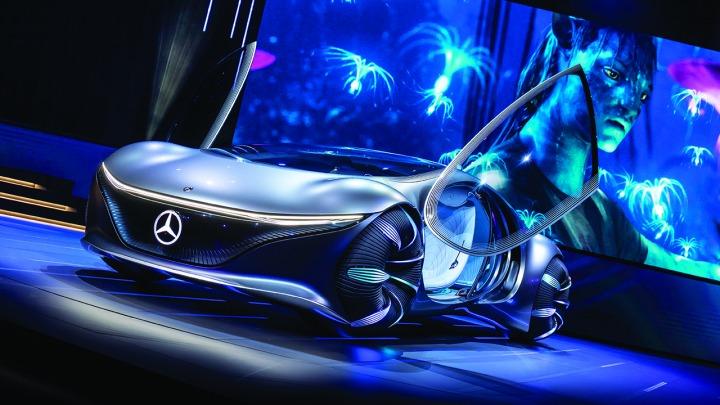 Mercedes-Benz VISION AVTR, inspiracja filmem AVATAR