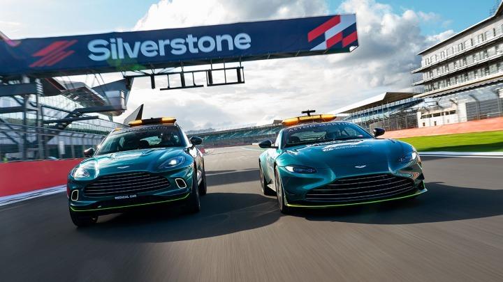 Aston Martin oficjalnym samochodem bezpieczeństwa w F1