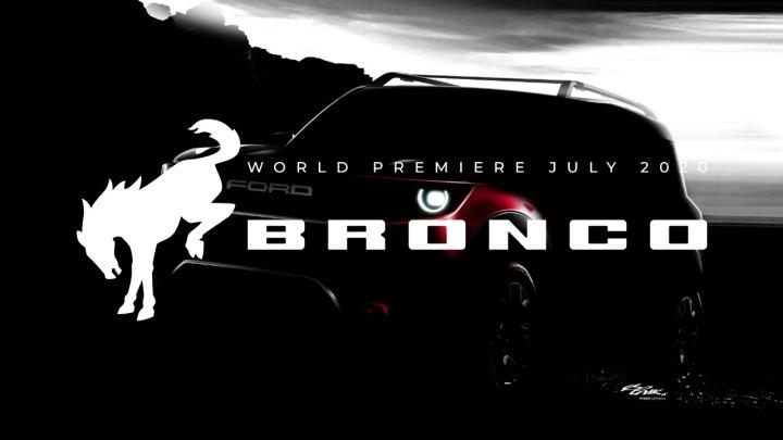 Dobre wieści z Motor City. W lipcu ujrzymy premierę nowego Forda Bronco