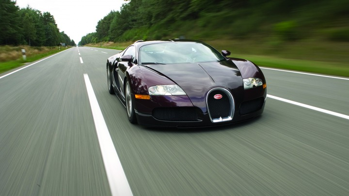 Ponad 400 km/h w Bugatti Veyron